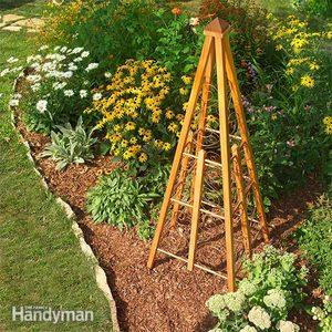 Classic Cedar and Copper Trellis Design