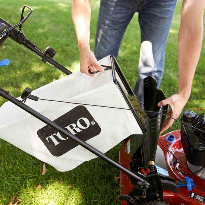 lawn mower bag