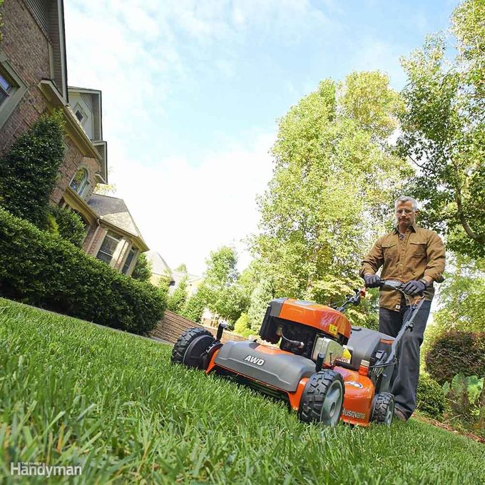 Match the drive system to your terrain and yard size
