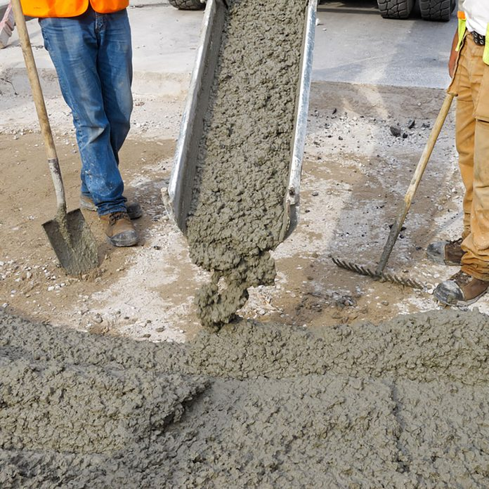 What are the specifications of the concrete you intend to use?