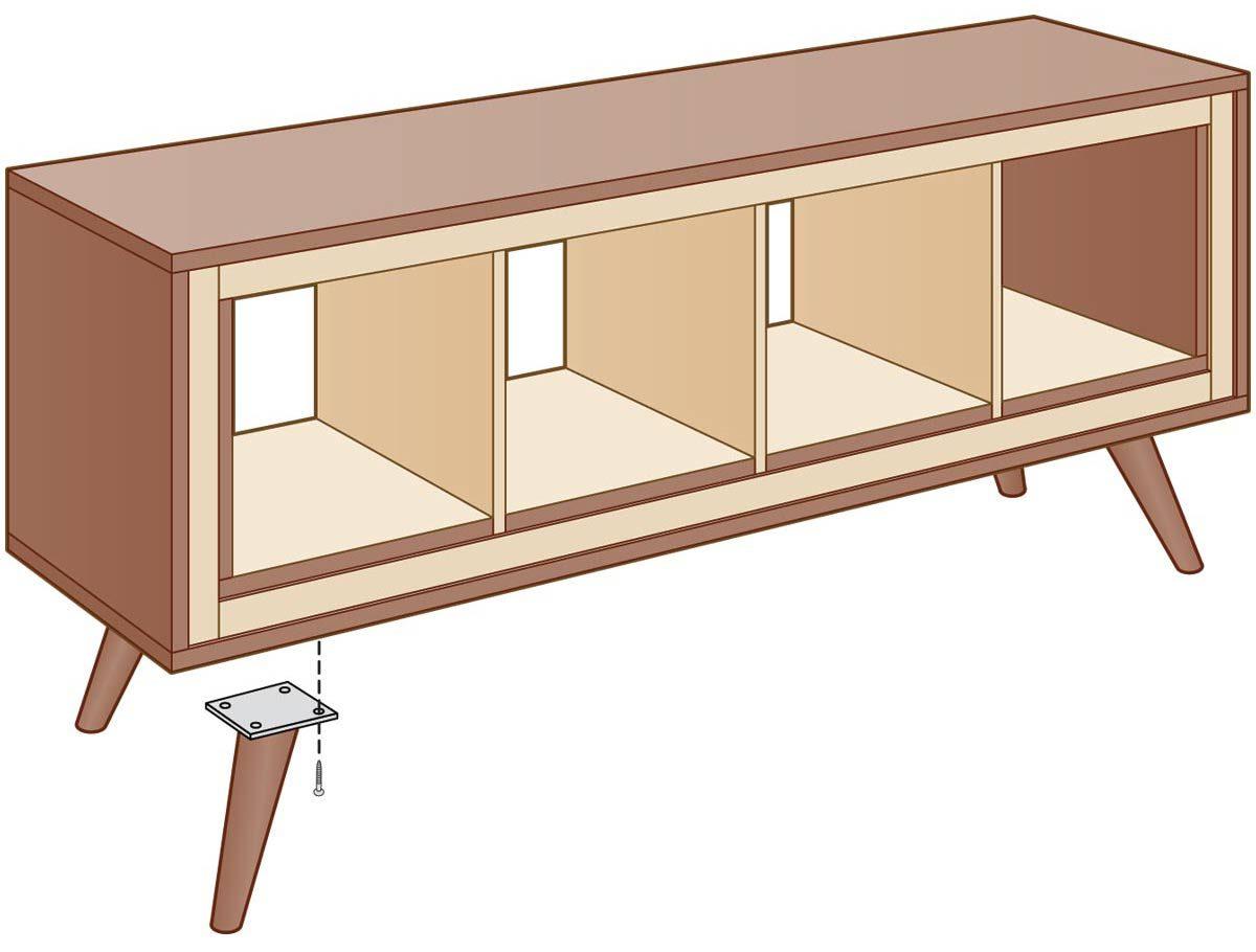 ikea modern console table