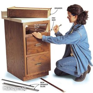 Fixing Drawers: How to Make Creaky Drawers Glide