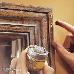 How to Fill Holes in Woodwork Around Your Home