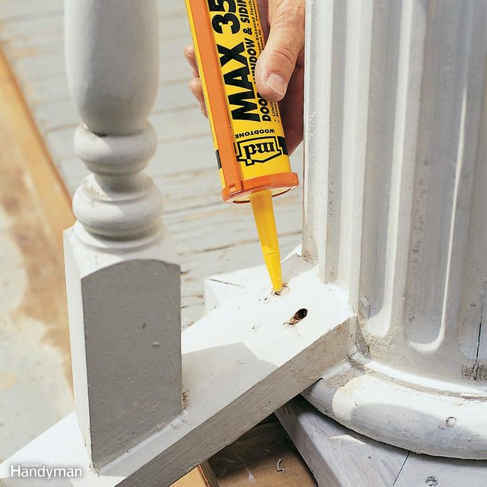What areas are you planning to caulk?
