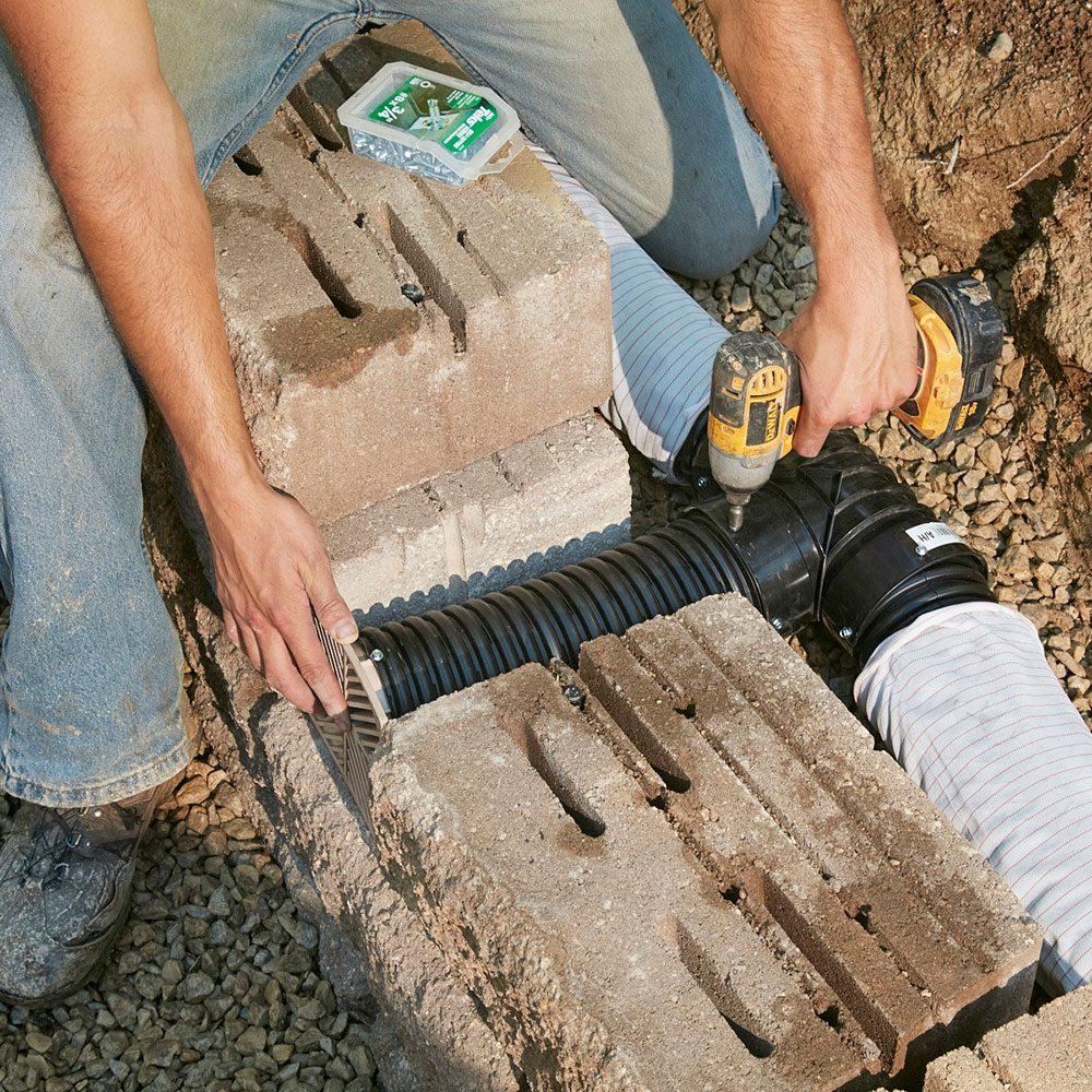 Retaining wall drainage | Construction Pro Tips
