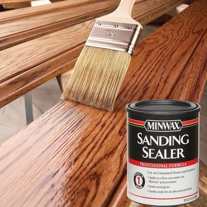 Sanding sealer brushed on | Construction Pro Tips
