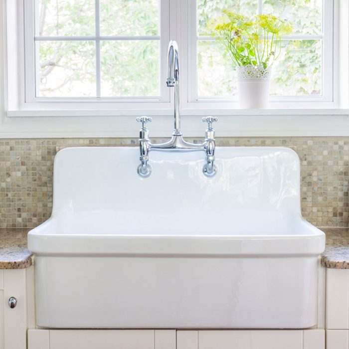 Farmhouse Look: Apron Sink