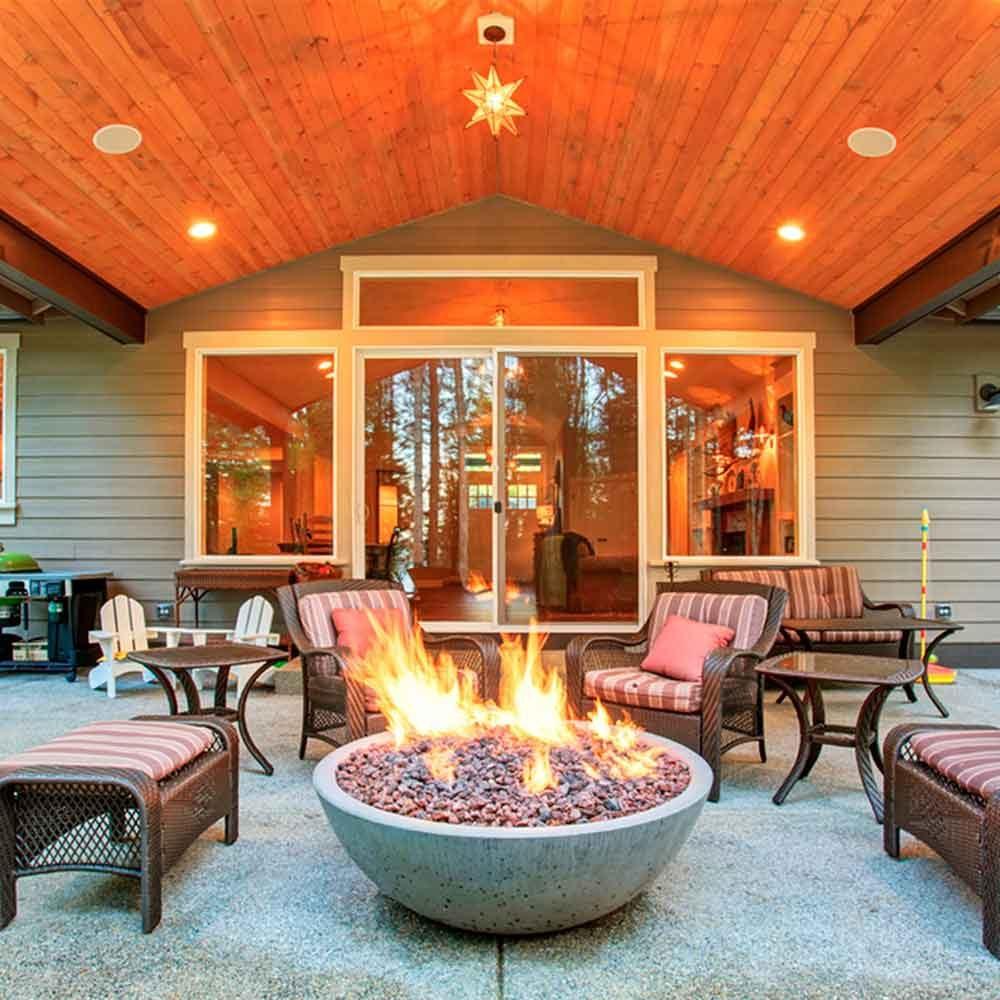 Get a Versatile Above-Ground Fire Pit