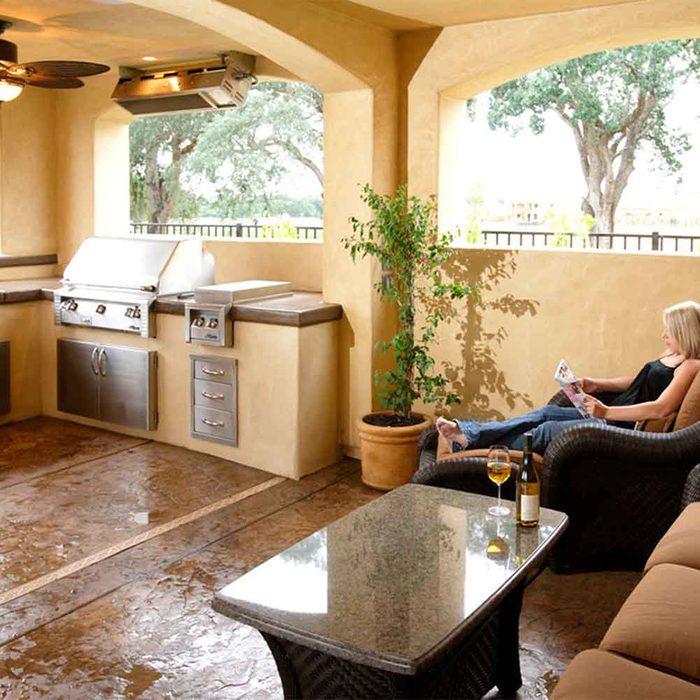 Open-Air Porch