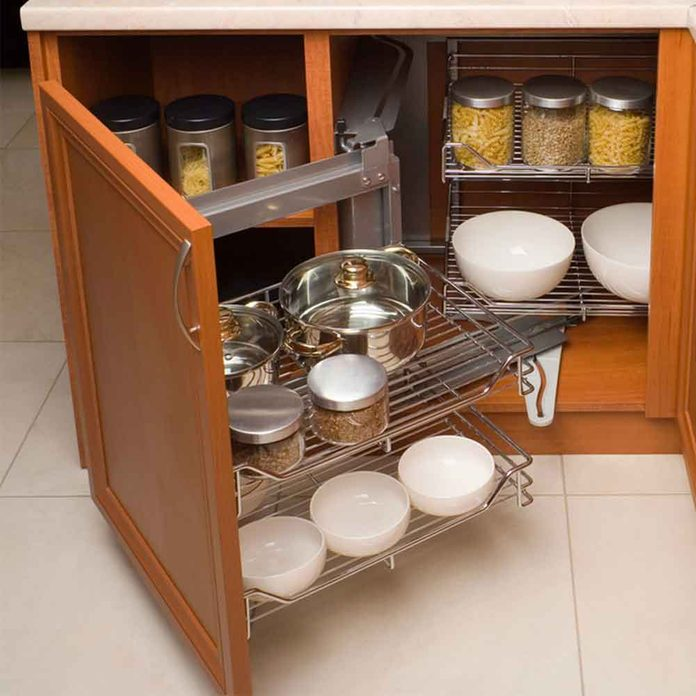 Install Expandable Shelves in Cabinets
