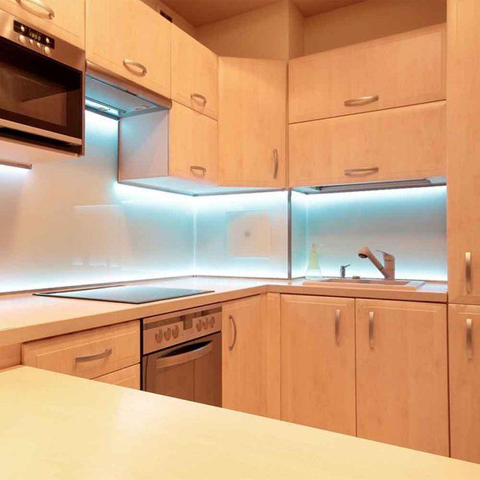 Add Under-Cabinet Lighting