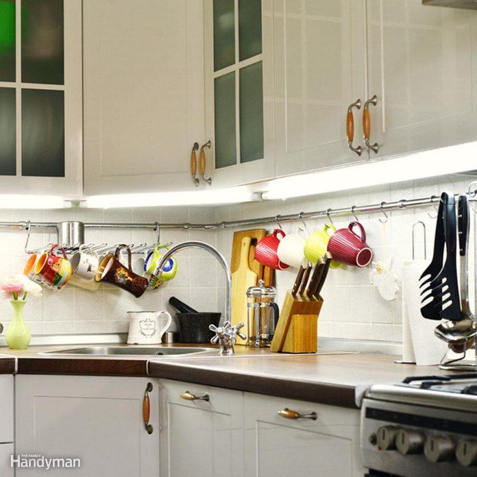 Kitchen Storage: Get Rail