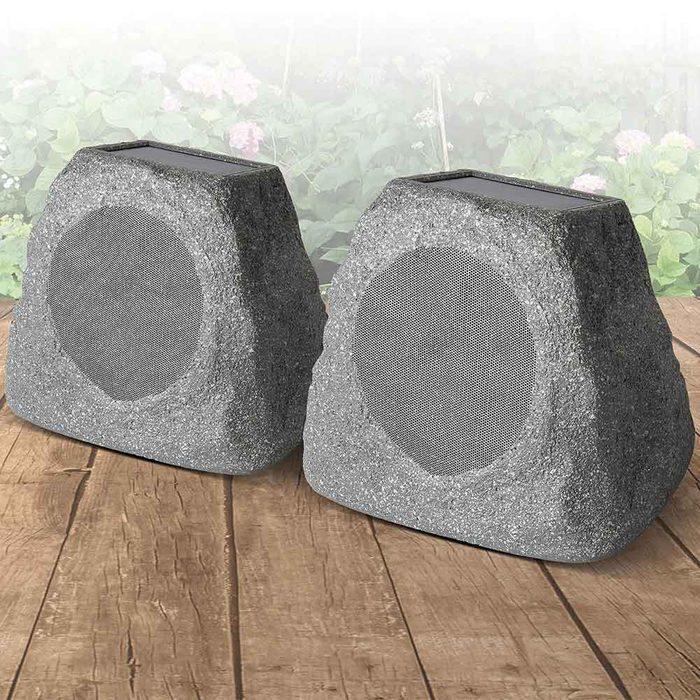 Backyard Speakers: Ion Audio Solar Stone