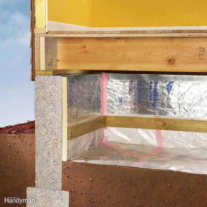 Inspect Crawlspaces and the Attic