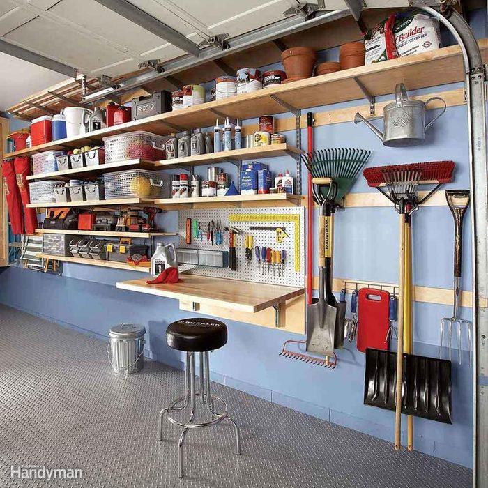 Flexible Garage Wall Storage