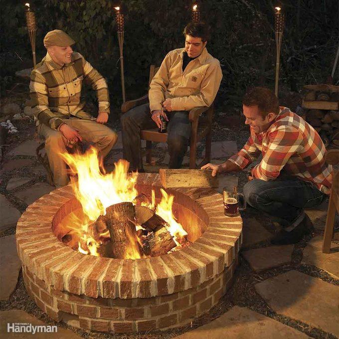 Cozy DIY Fire Pit