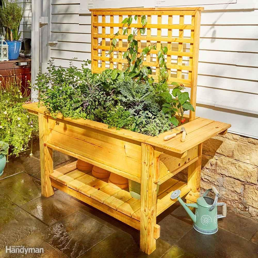 Patio Planters Built by Two