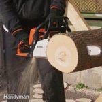 Chain Saw Race: Gas vs. Battery