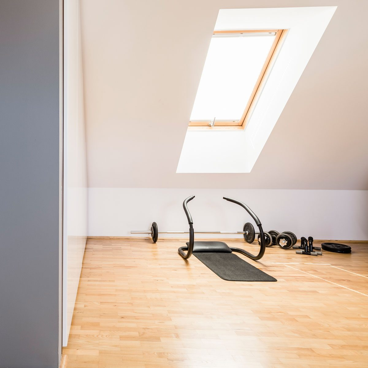 Set Up a Basement or Attic Gym