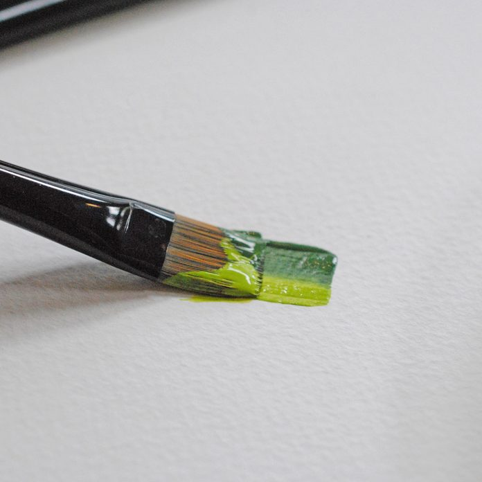 blending paint