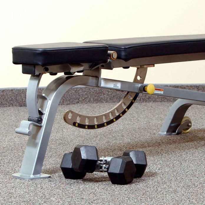 Racks and Benches Can Help, Too
