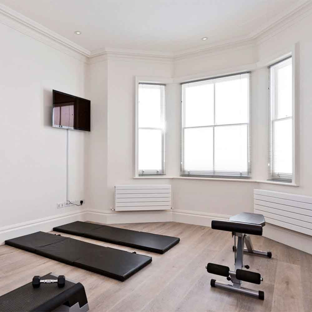Bedroom Corner Home Gym Ideas