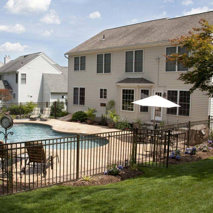 classic cool swimming pool