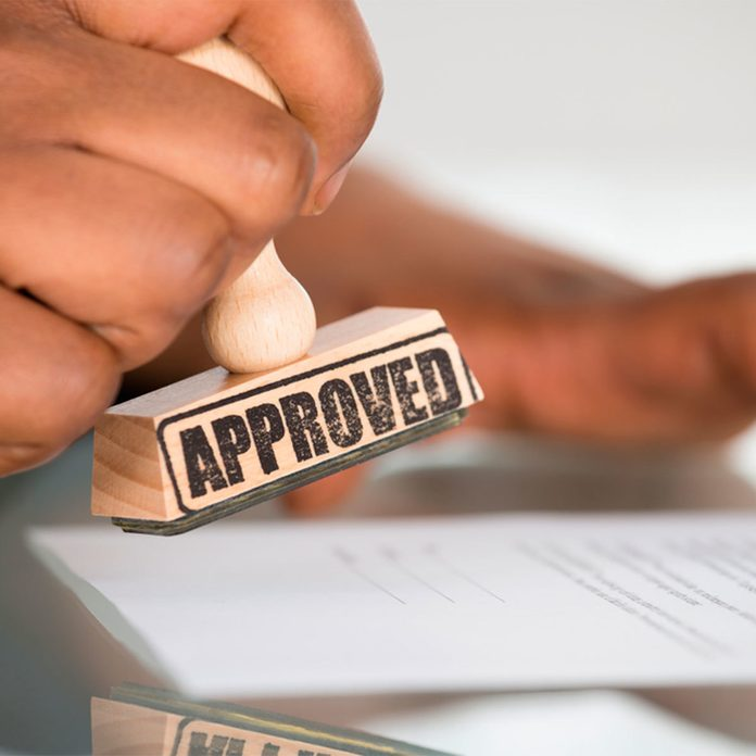 obtain permits approved