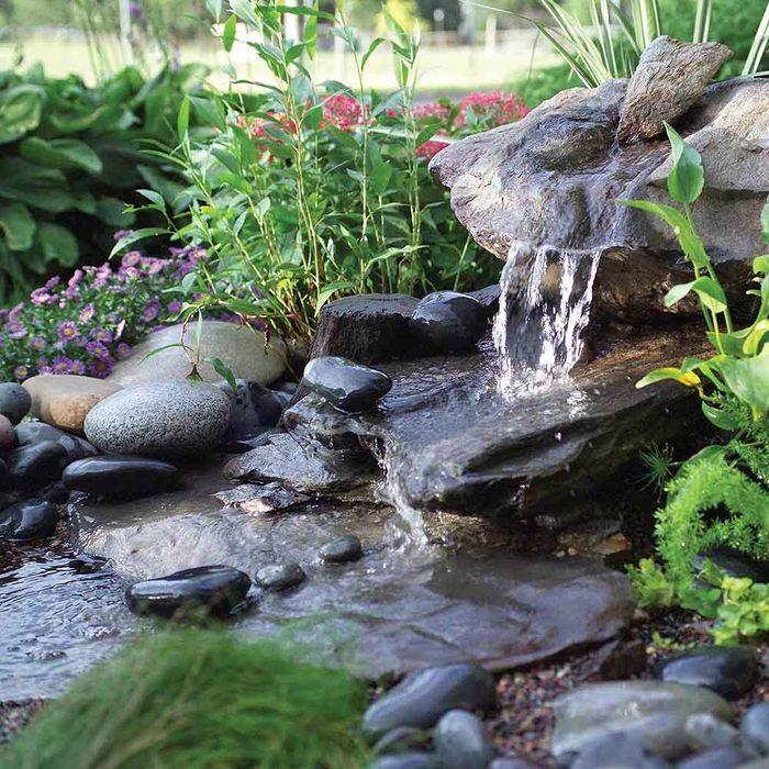 Natural-Looking Artesian Fountain