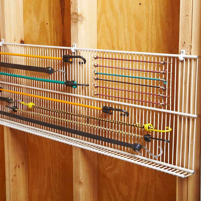 Brilliant Way to Store Bungees