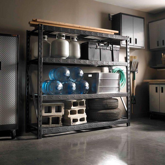 gladiator-heavy-duty-rack shelves storage