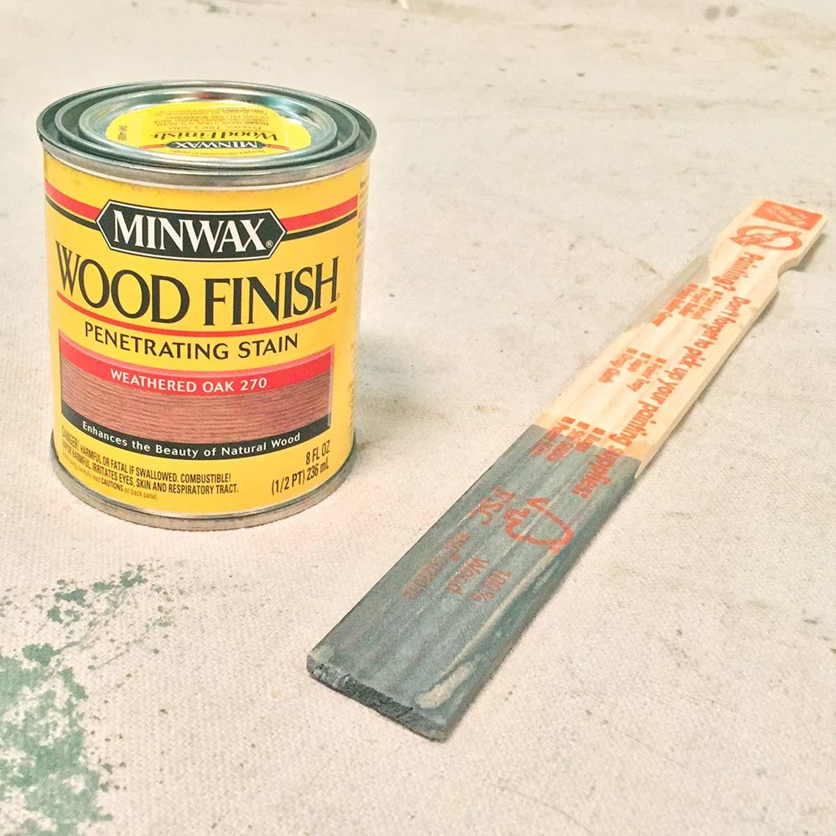 Minwax Weathered Oak
