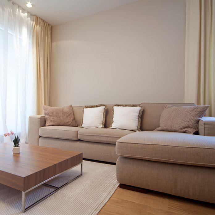 Small Room Ideas: Plain Upholstery