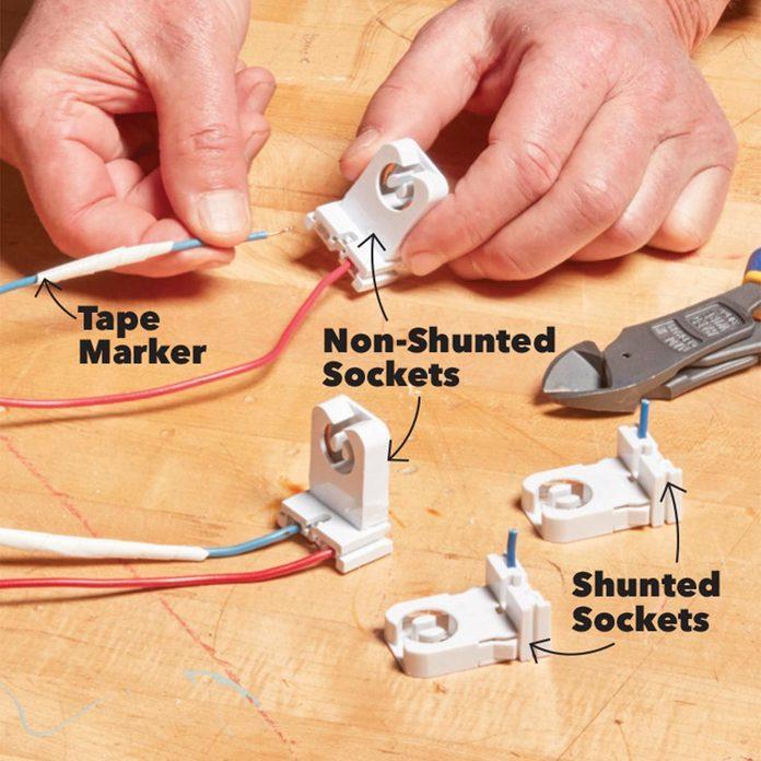 LED light sockets