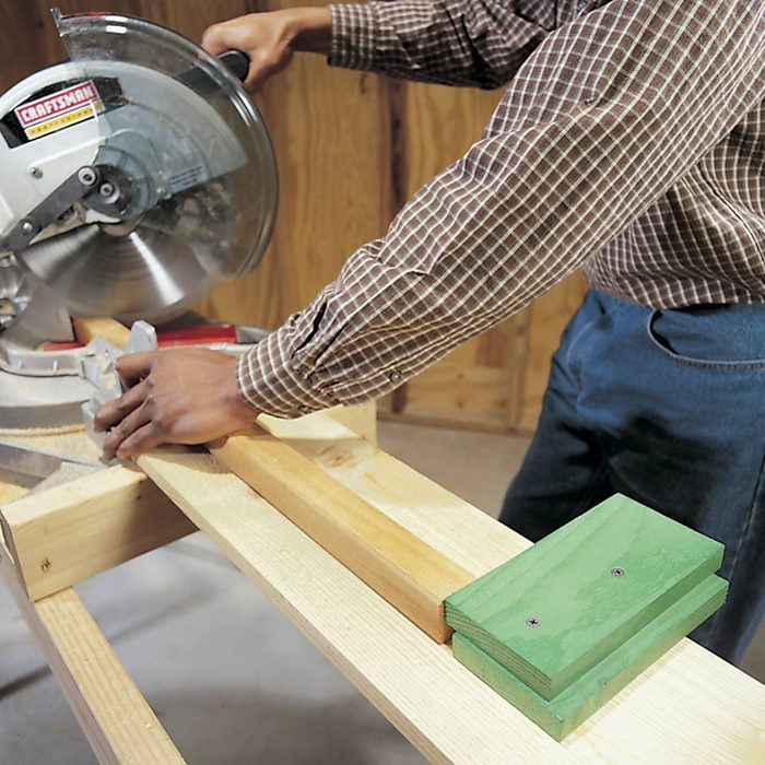 Use Stop Blocks for Repeat Cuts