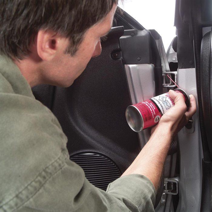 Eliminate squeaky doors