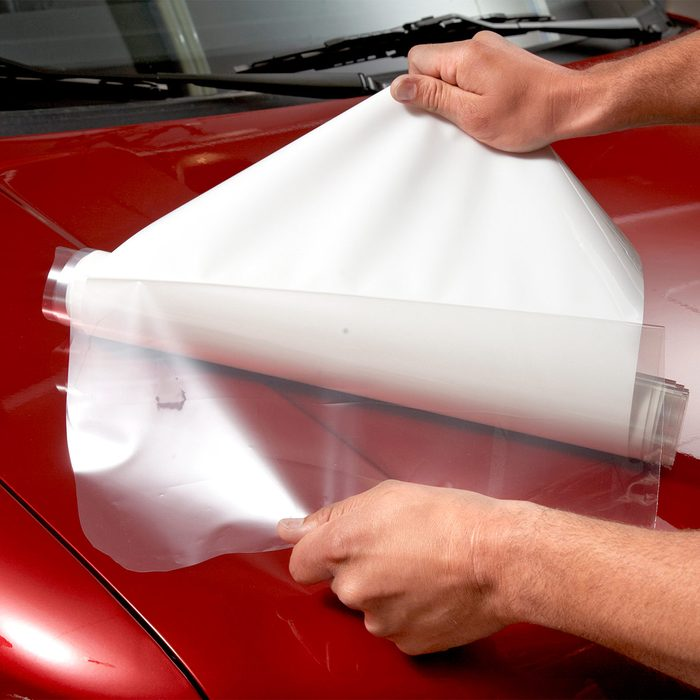 Apply a protective film