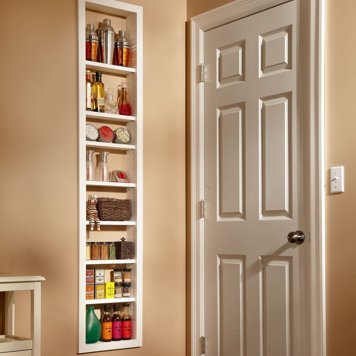 Make Your Own Built-In Shelves