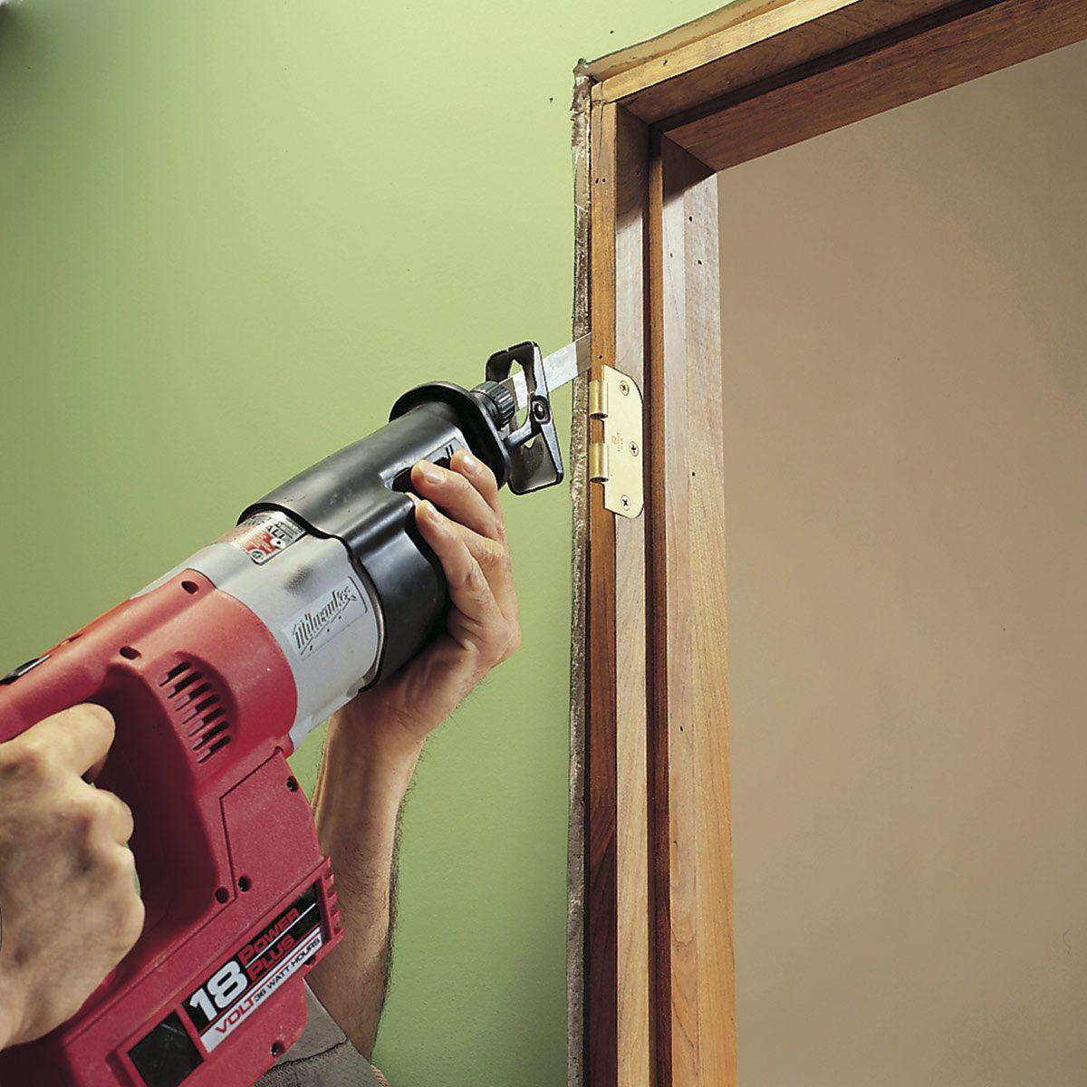 remove a door jamb