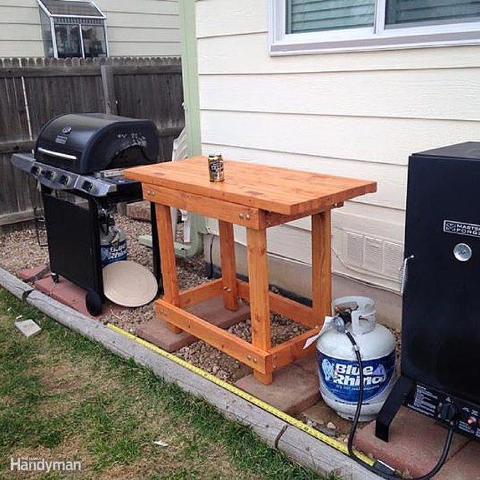 Outdoor Prep Table
