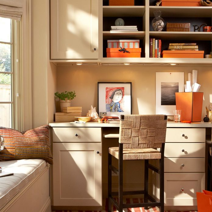 Interior of a Contemporary Home Office Gettyimages 696436434