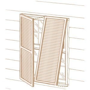 colonial or bahama shutters