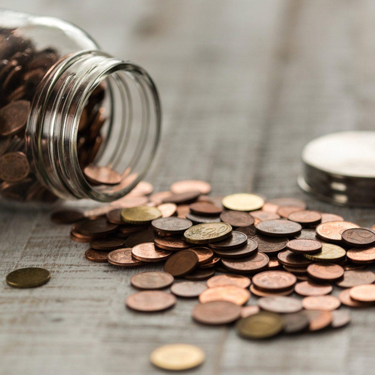 Jar of Change penny pincher