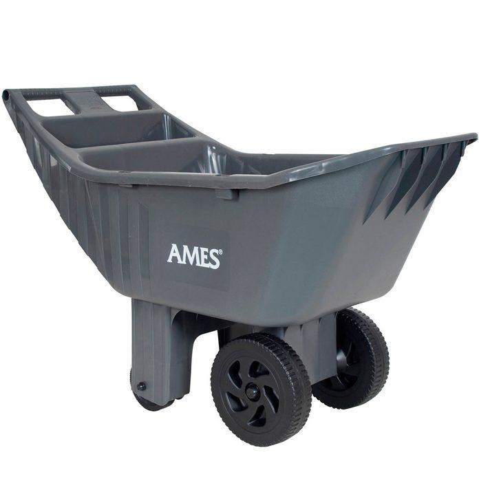 Ames Easy Roller Poly Yard Cart wheel barrow