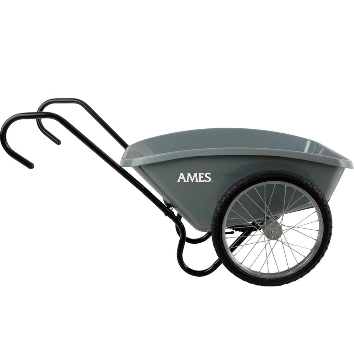 Ames Total Control 5 Cuft Garden Cart wheel barrow