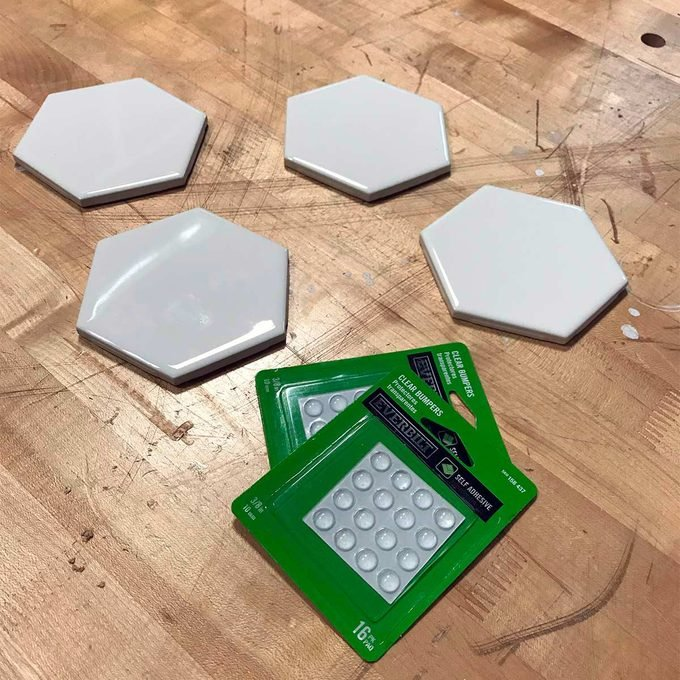 tiles and bumpers for coasters