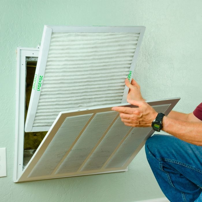 Clean Furnace and Air Conditioning Filters Regularly