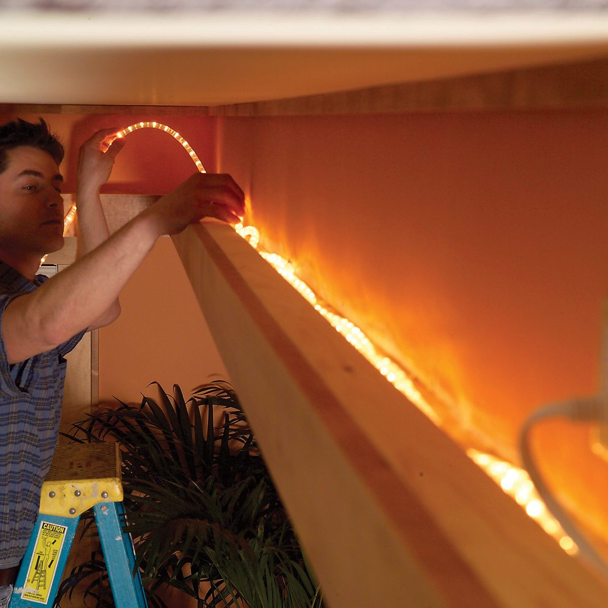 Bored with Overhead Lighting? Try Copper LEDs