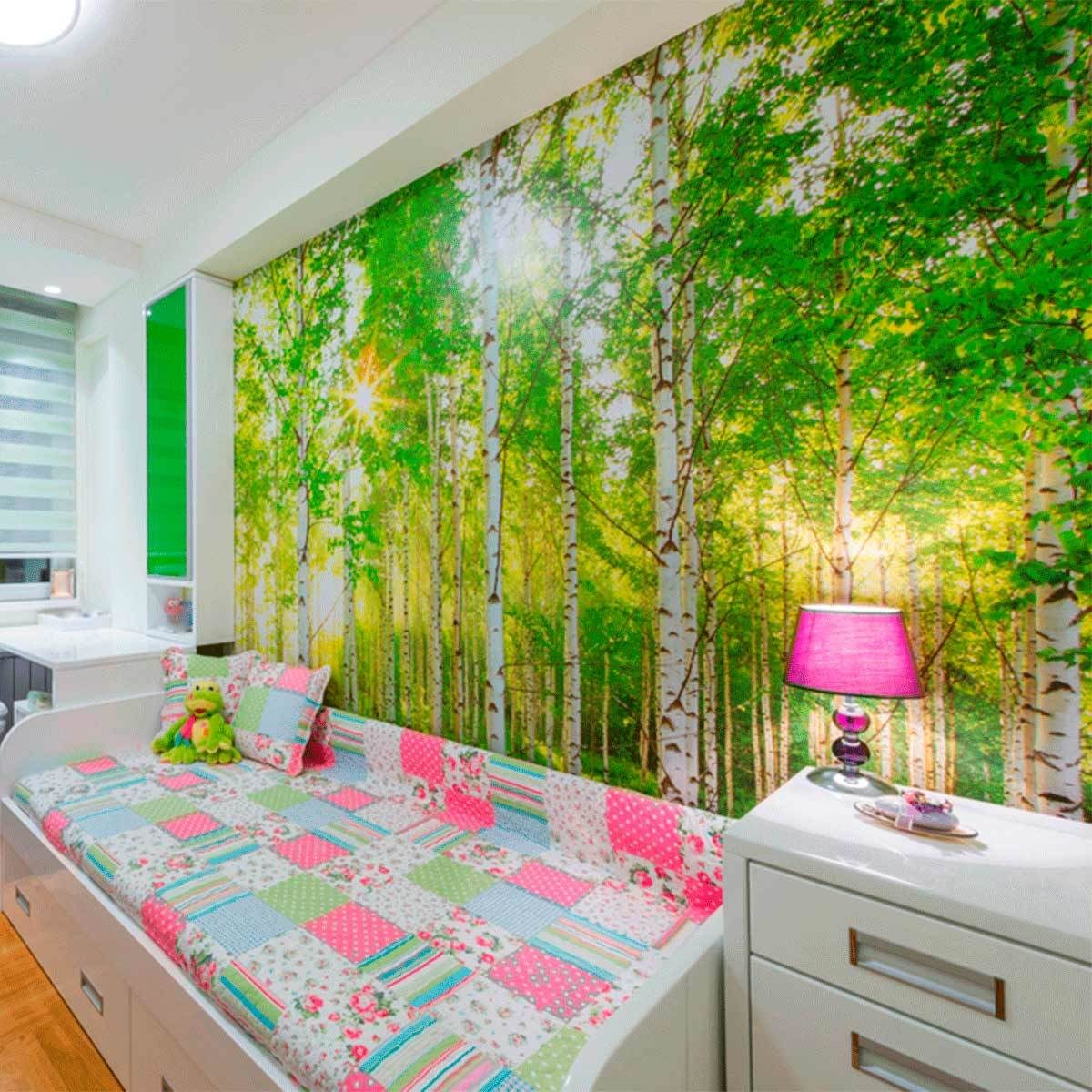 Create a Mural in the Bedroom