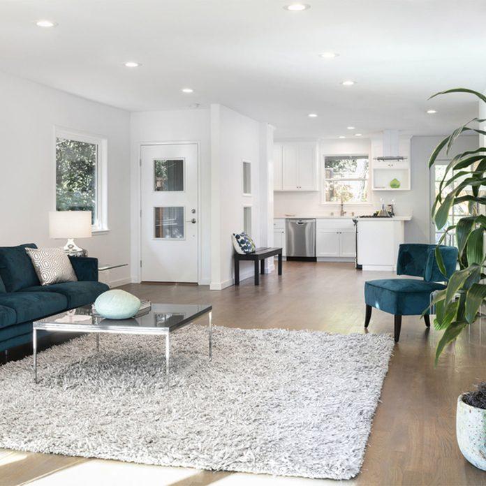 Open-Plan Living modern living room kitchen